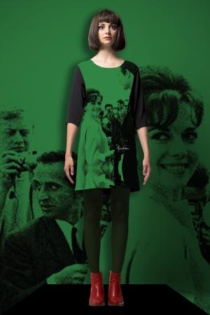 "Robe For every day ""nathalie vert"""