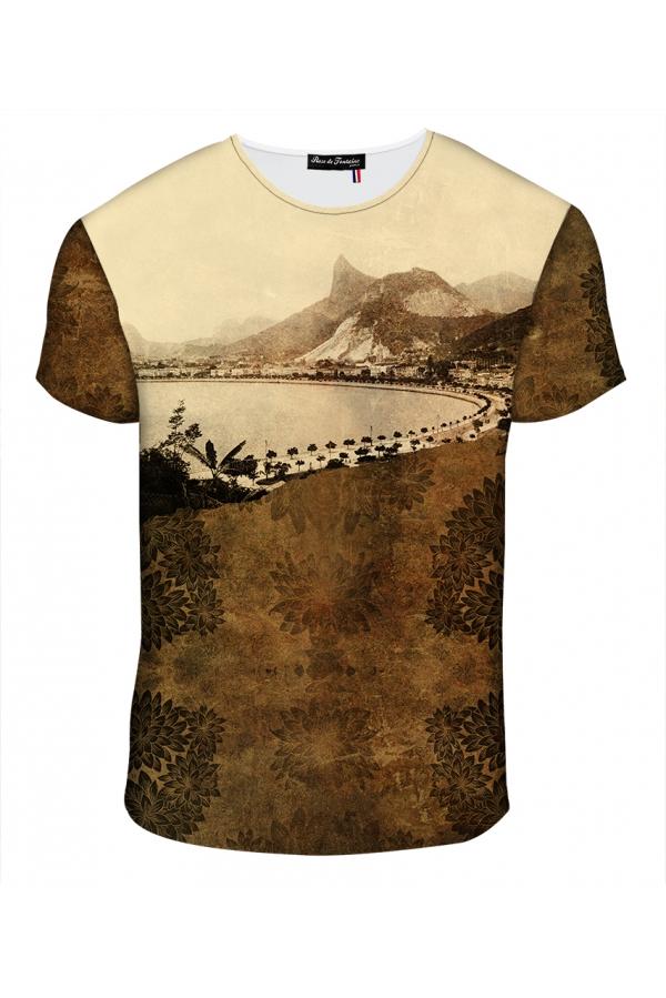"""T-shirt Homme imprimé """"Brésil"""" l Rose de Fontaine"""