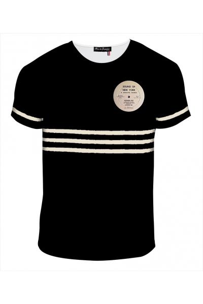 """T-shirt Homme imprimé """"Vynil sound of NY"""" l Rose de Fontaine"""