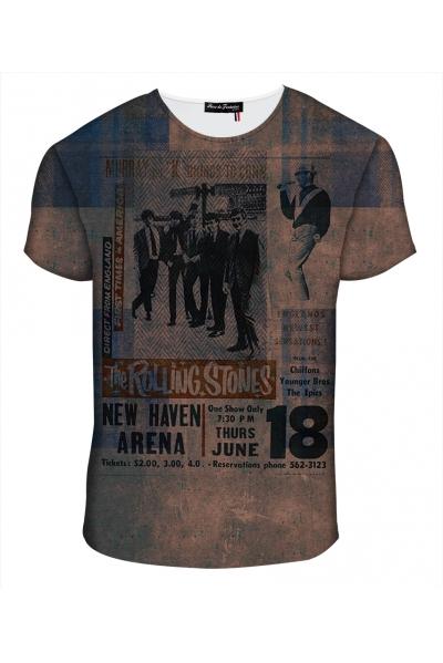 """T-shirt Homme imprimé """"Stones"""" l Rose de Fontaine"""