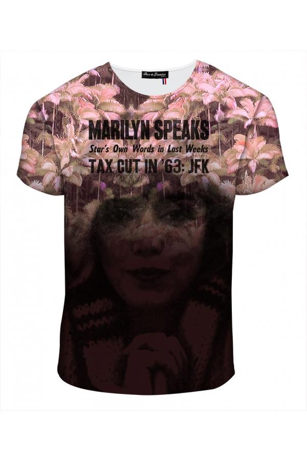 """T-shirt Homme imprimé """"Maryline"""" l Rose de Fontaine"""